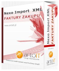 Box programu subiekt nexo import faktur zakupu
