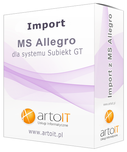 box programu subiekt gt import ms allegro