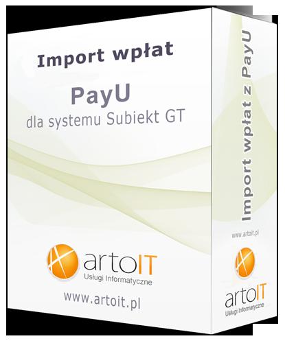 pudełko importera wpłat z PayU do Subiekta GT
