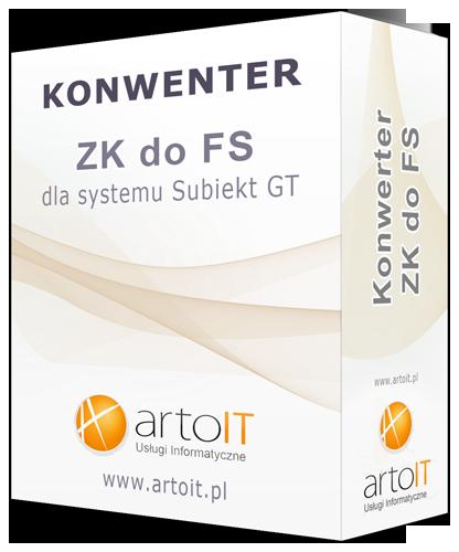 pudełko konwertera zk do fs dla GT