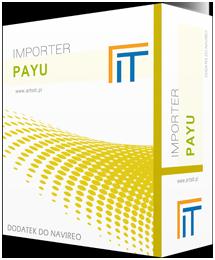 box programu navireo import z PayU
