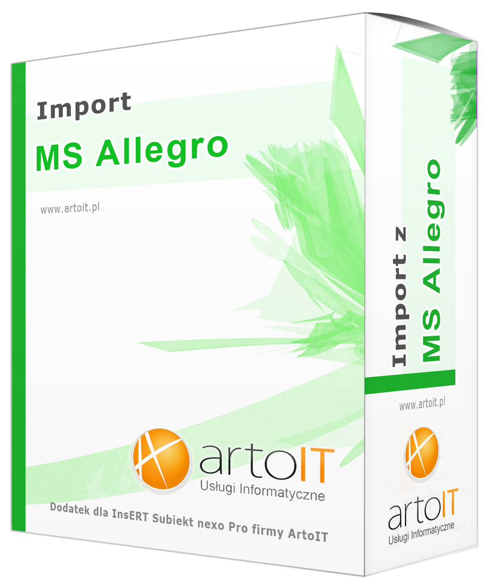 box programu subiekt nexo import ms allegro