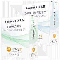 pudełko pakiet import towarów i dokumentu